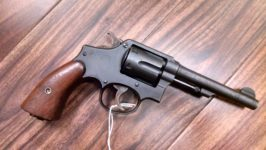 S&W MODEL 10 VICTORY .38 SPECIAL REVOLVER