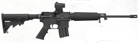 BUSHMASTER XM15 ORC WITH RED DOT