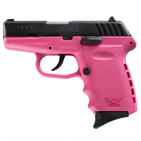 SCCY CPX-2 9MM PINK PISTOL