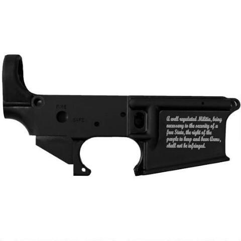 STAG ARMS 2ND AMENDMENT AR-15 STRIPPED LOWER RECEIVER