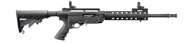 RUGER SR-22 RIFLE WITH FLIP UP SIGHTS