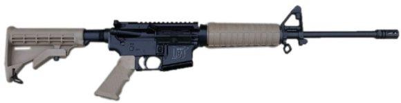 DEL-TON DT SPORT AR15 FDE 5.56 NATO RIFLE