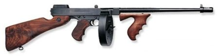 AUTO-ORDNANCE THOMPSON 1927A-1 DELUXE LIGHTWEIGHT .45 ACP RIFLE