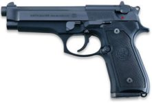 BERETTA M9 WITH SAFETY 9MM PISTOL
