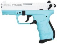 WALTHER ARMS PK380 TIFFANY BLUE/SILVER 380 ACP PISTOL
