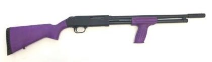 MOSSBERG 500 TALO 410 BORE PURPLE SHOTGUN