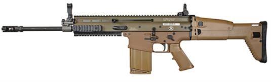 FN SCAR 17S FDE .308 WIN RIFLE