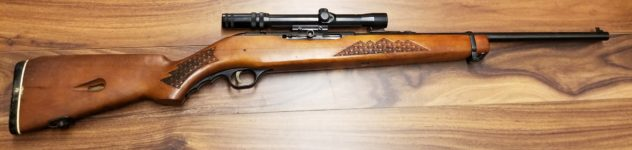 WESTERN FIELD M846 .22LR RIFLE WITH SCOPE