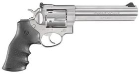 RUGER GP100 STAINLESS STEEL 357 MAGNUM/38 SPECIAL 6 REVOLVER