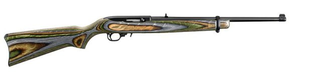 RUGER 10/22 GREEN MOUNTAIN LAMINATE 22 LR RIFLE