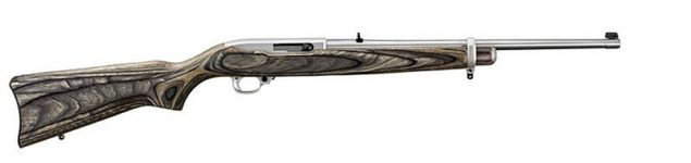 RUGER 10/22 BROWN GREY LAMINATE .22LR RIFLE