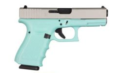 GLOCK 19 GEN 4 TIFFANY BLUE SATIN 9MM PISTOL
