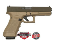 GLOCK 17 GEN 4 MATTE BROWN 9MM PISTOL