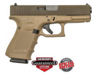 GLOCK 19 GEN 4 TWO TONE BROWN 9MM PISTOL