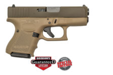 GLOCK 26 GEN 4 MATTE BROWN 9MM PISTOL