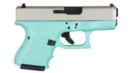 GLOCK 26 GEN 4 TIFFANY BLUE AND ALUMINUM 9MM PISTOL
