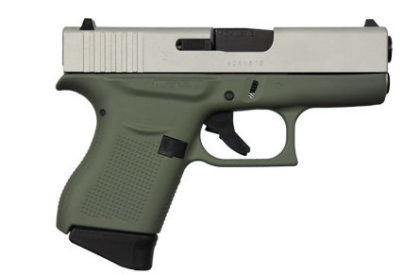 GLOCK 43 FOREST GREEN 9MM PISTOL