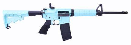 RUGER AR-556 TIFFANY BLUE 5.56MM RIFLE
