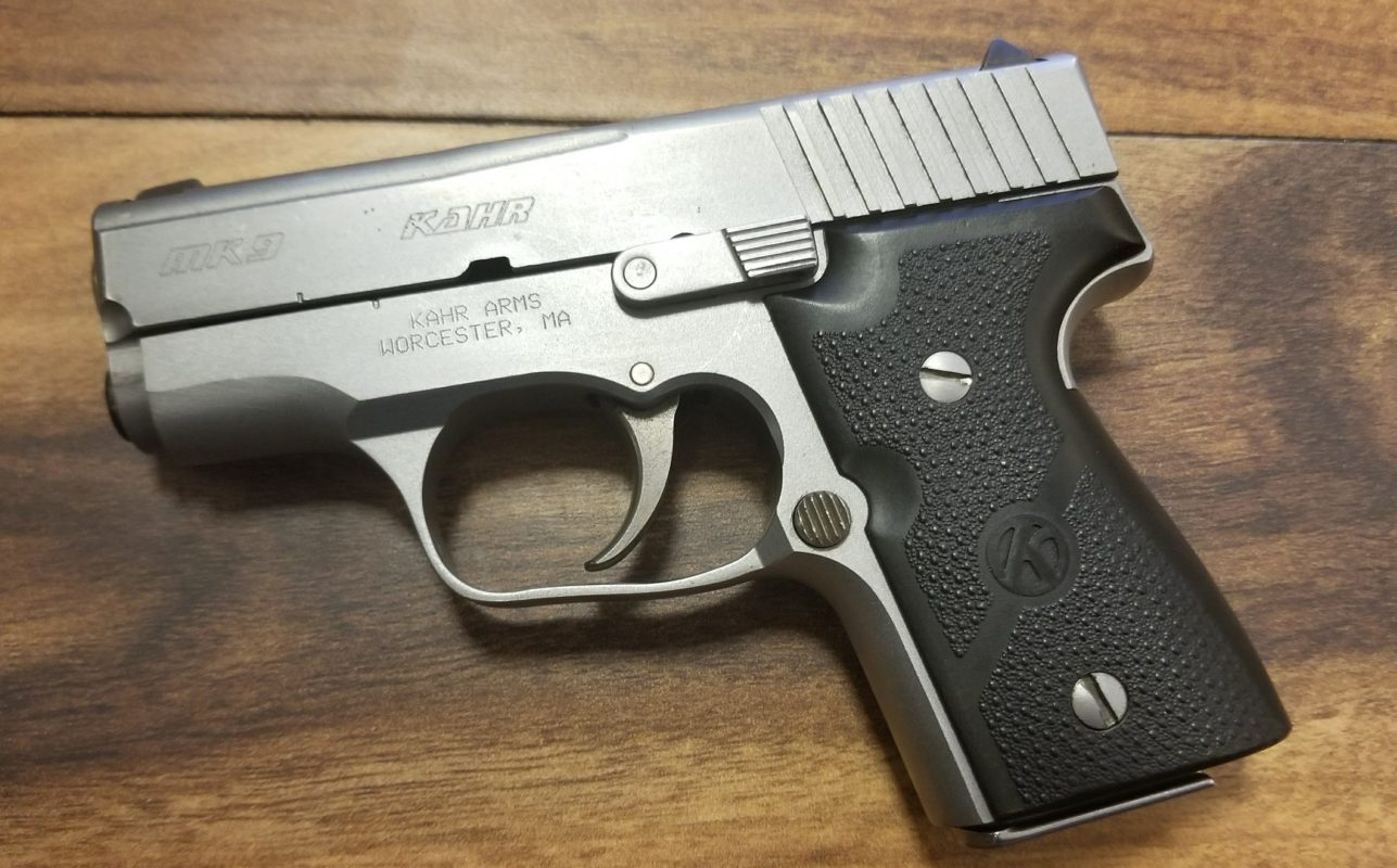 KAHR ARMS MK9 STAINLESS 9MM PISTOL
