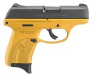 RUGER LC9S TALO YELLOW 9MM PISTOL