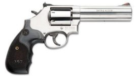 SMITH AND WESSON 686 3-5-7 MAGNUM REVOLVER