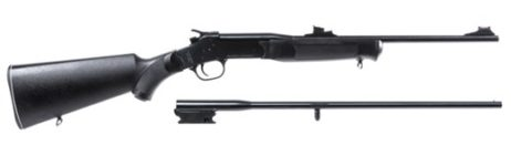 ROSSI MATCHED PAIR 410 BORE/22 LR YOUTH RIFLE
