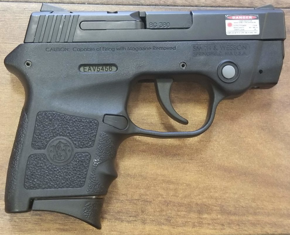 SMITH AND WESSON BODYGUARD 380 WITH LASER .380 ACP PISTOL
