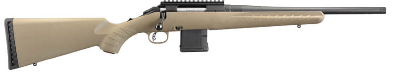 RUGER AMERICAN RANCH FDE 5.56 RIFLE